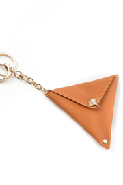 Gift Craft Earbud Keychain Pouch - Front cropped