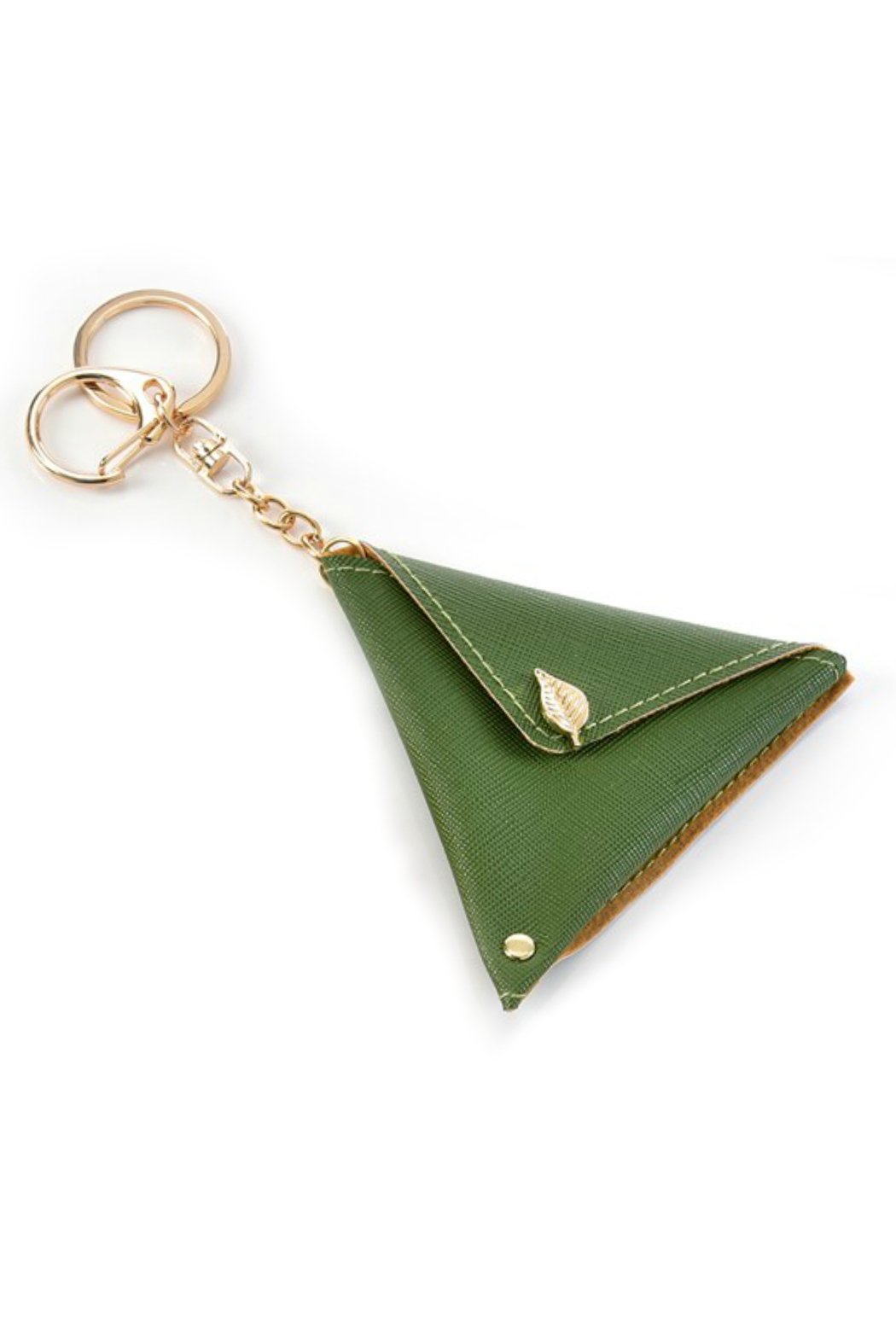 Gift Craft Earbud Keychain Pouch - Front Cropped Image
