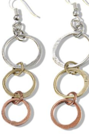 Anju EARRING 3 CIR - Front cropped