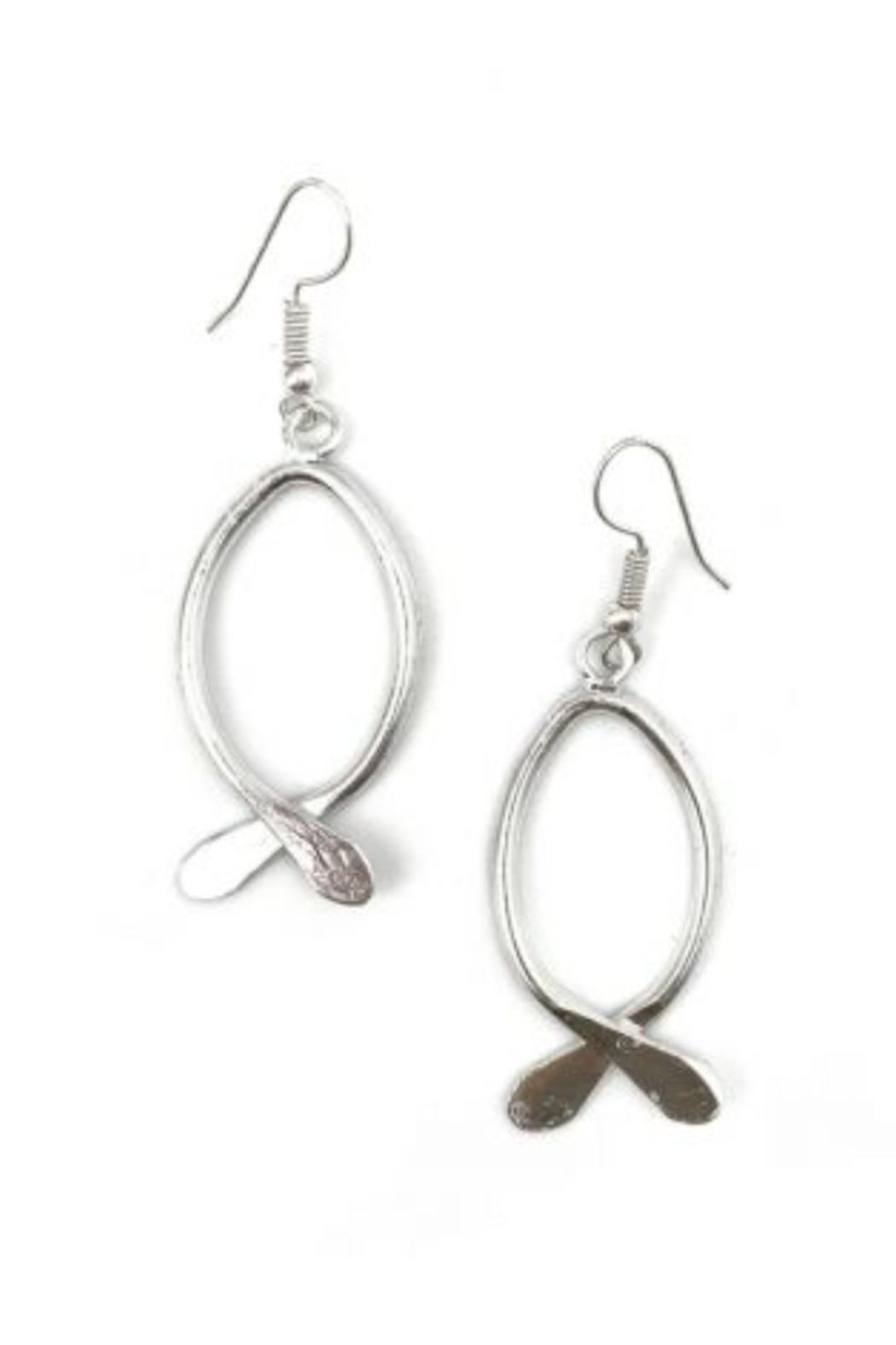 Anju EARRING FISH SHAPE - Front Cropped Image