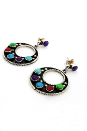 Linda de Taxco Earrings With Stones - Product Mini Image