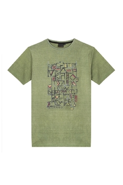 3Pommes EARTH COAST GRAPHIC TEE - Product List Image