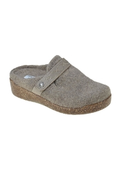 Earth Janet Felt Clog - Front cropped