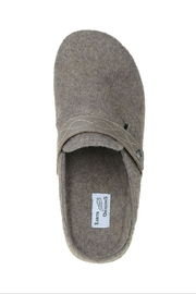 Earth Janet Felt Clog - Front full body