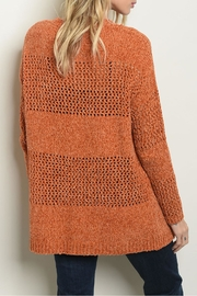 Cozy Casual Earth Knit Sweater - Front full body
