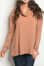 Very J Earth Sweater - Front cropped