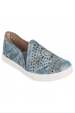 Earth Tayberry Leather Sneaker - Product List Image