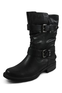 Earthies Black Mid Boot - Product List Image