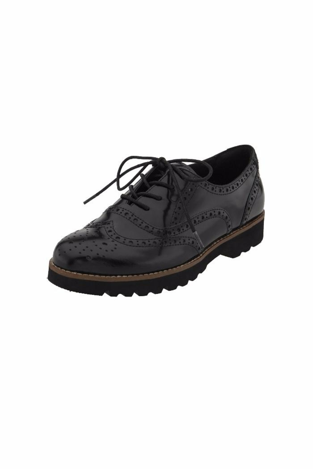 Earthies Santana Oxford Shoes - Front Cropped Image
