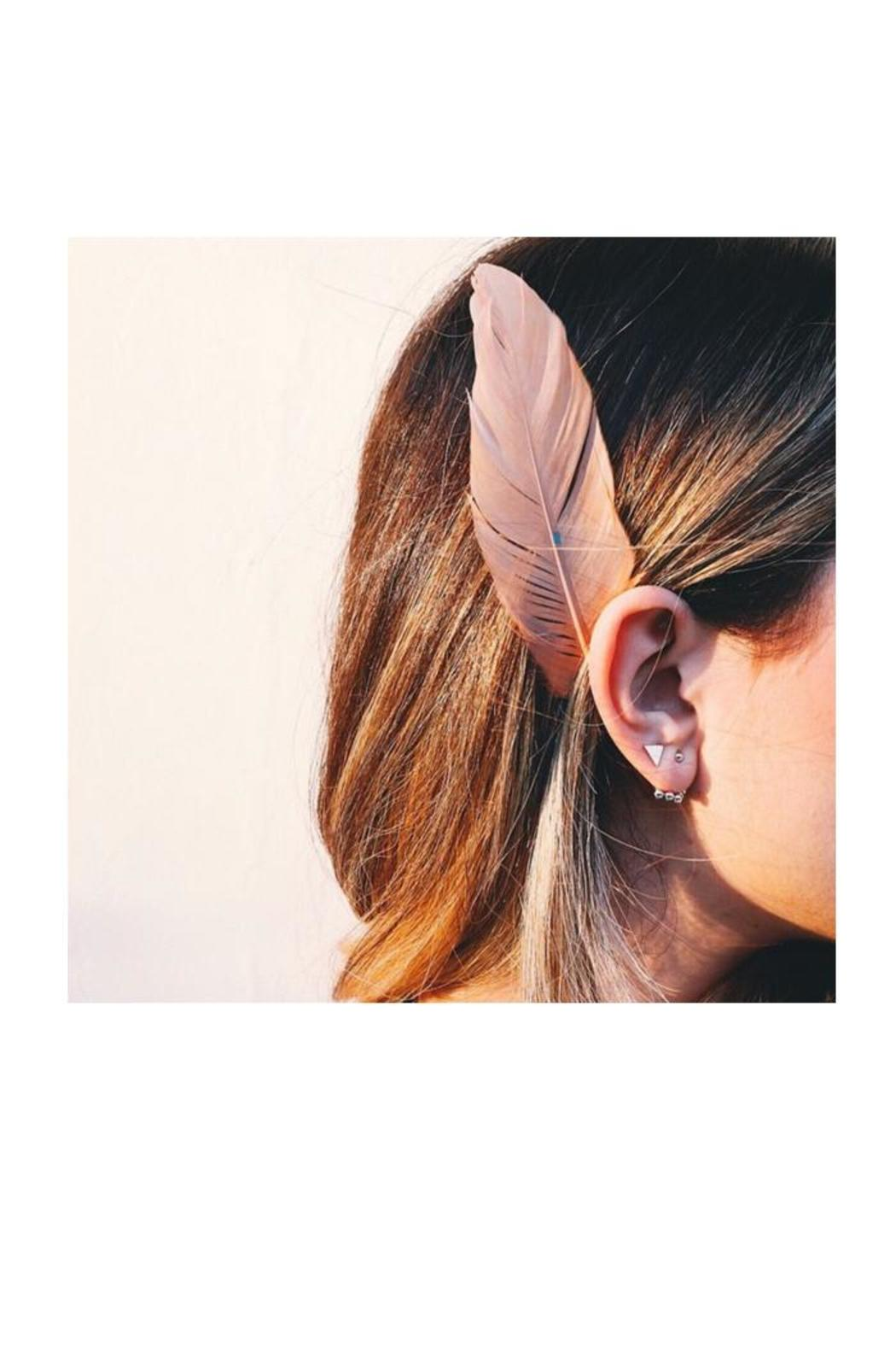 Earthy Chic Bubble Ear Jackets - Front Full Image