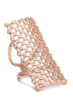 Shoptiques Product: Crystal Cage Ring