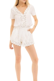 Earthy Chic Margot Romper - Front cropped