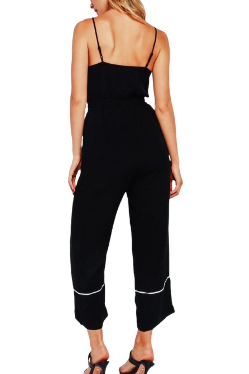 Earthy Chic Regina Jumpsuit - Side Cropped Image