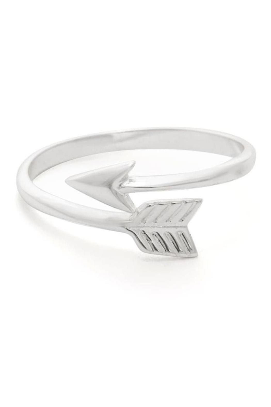 Earthy Chic Arrow Ring - Front Cropped Image