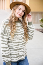 easel A To Zebra Sweater - Product Mini Image