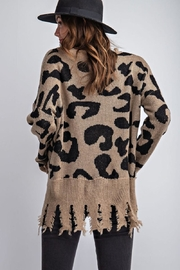 easel Animal Knit Sweater - Other