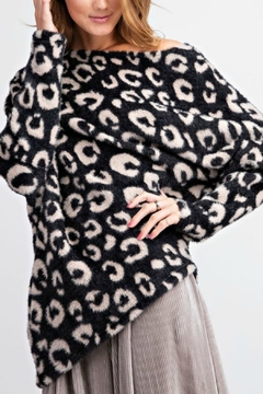 Easel  Animal Mohair Sweater - Product List Image