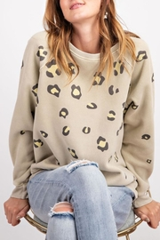easel Animal Print Sweatshirt - Product Mini Image
