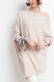 easel Assymetrical Oversize Tunic - Side cropped