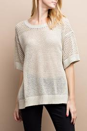 easel Back Laced Sweater - Product Mini Image