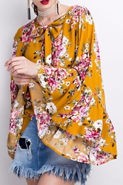 easel Bell Sleeve Tunic - Product Mini Image