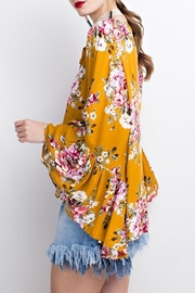 easel Bell Sleeve Tunic - Front full body