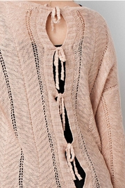 easel Blush Sweater - Front full body