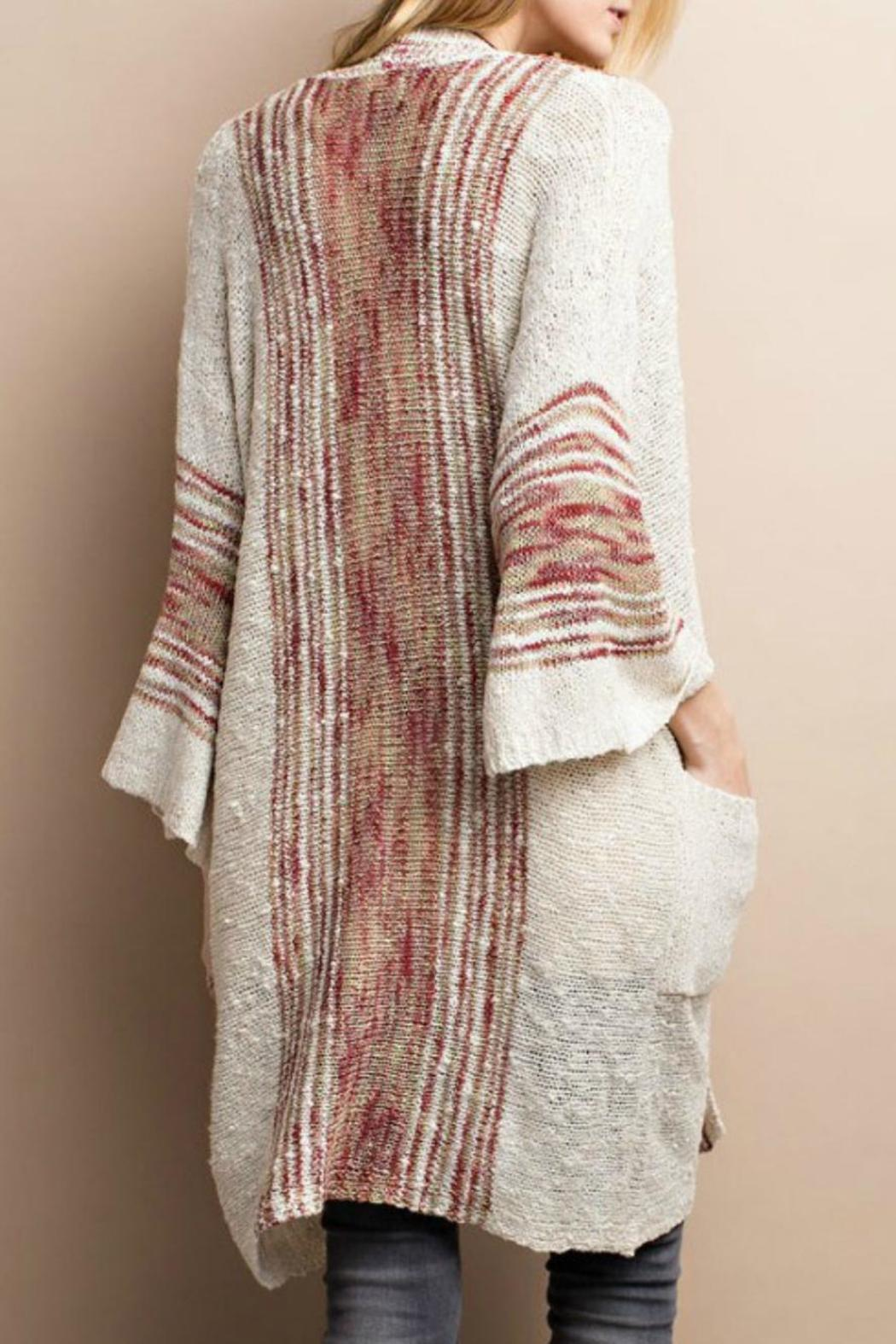 Easel Boho Knit Cardigan From Kansas By Seirer S Clothing