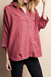 easel Boxy Button Down - Product Mini Image