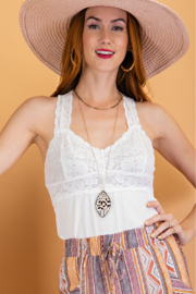 easel  Easel Bralet Tunic - Front cropped