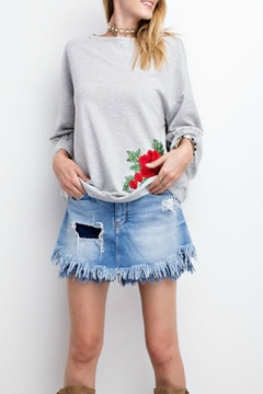 Shoptiques Product: Bubble Sleeve Sweatshirt