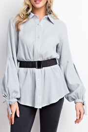easel Button-Down Blouse - Product Mini Image
