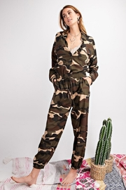 easel Camo Jumpsuit - Front cropped