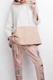 easel Color Block Hoodie - Front cropped