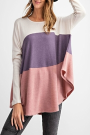 easel Color-Block Soft Top - Back cropped