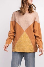 easel Comfy Color-Block Pullover - Product Mini Image