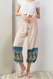 easel Cool Printed Joggers - Front full body
