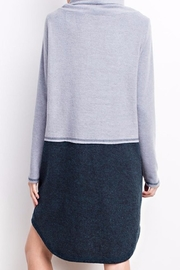 easel Cowl Neck Dress - Side cropped
