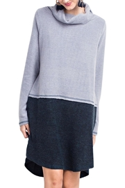 easel Cowl Neck Dress - Front cropped