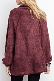 easel Cowl Neck Pullover Sweater - Front full body