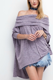 easel Cowlneck Perfect Tunic - Product Mini Image