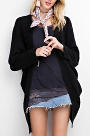 easel Cozy Knit Cardigan - Front cropped
