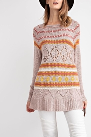 easel Cozy Knit Sweater - Product Mini Image