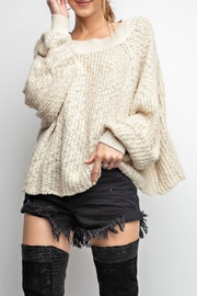easel Cozy Ribbed Sweater - Product Mini Image