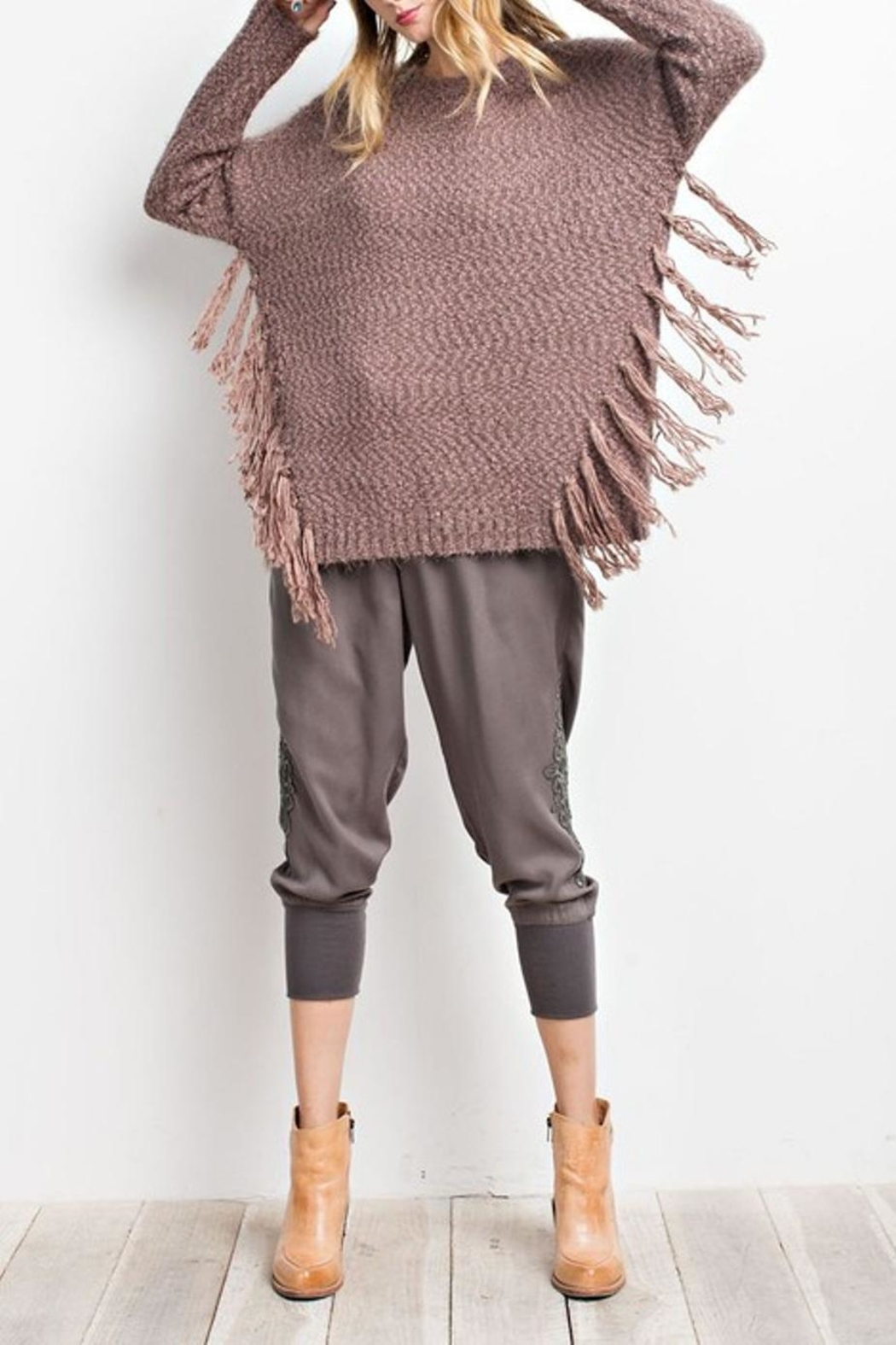 easel Cozy Sweater - Front Full Image