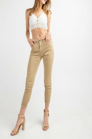 easel Cut-Edge Stretch Jeggings - Other