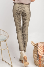easel Distressed Snake Skin - Back cropped