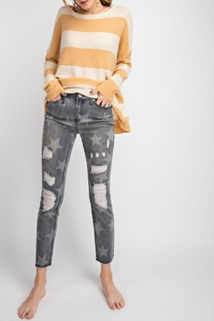 easel Distressed Star Skinnies - Product List Image
