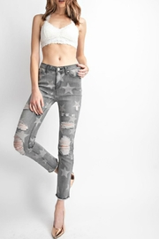 easel Distressed Star Skinnies - Product Mini Image
