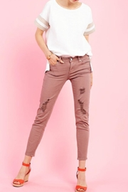 easel Distressed Stretchy Pant - Product Mini Image